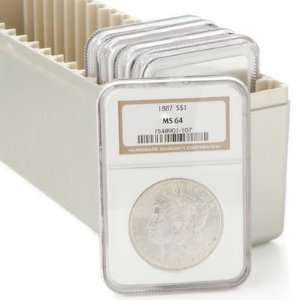 Different Date Or Mint Mark Morgan Silver Dollars NGC MS64 w/Storage