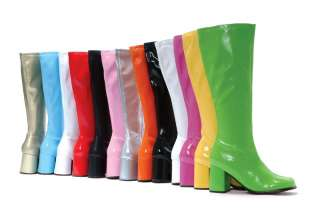 Groovy GoGo Boots 3 Heel Tons of Colors Size 5 14 Brand New FREE USA