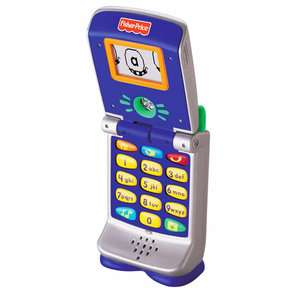 Fisher Price Fun 2 Learn Cell Phone Pretend Play, Arts & Crafts