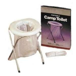 PORTABLE CAMP TOILET Sports & Outdoors
