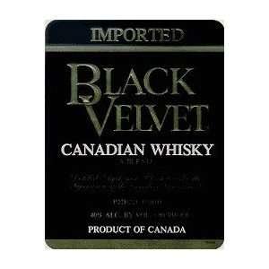 Black Velvet Canadian Whisky 80@ 750ML Grocery & Gourmet