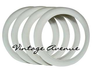 VINTAGE COLLECTOR CAR AUTOMOBILE WHITE WALL TIRES 10