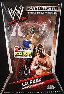CM PUNK W/ REMOVABLE MASK RINGSIDE EXCLUSIVE WWE FIGURE