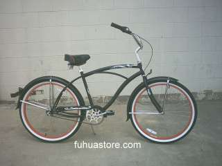 New 26 with shimano 3 speed beach cruiser bicycle bike Tahiti 3spd