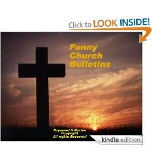 Funny Church Bulletins: Raymond Barton:  Kindle Store