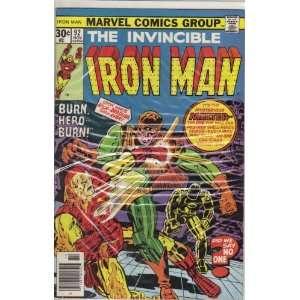 Iron Man #92 Comic Book