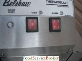 Belshaw Thermoglazer Donut Machine System Frozen Maker