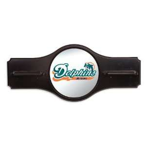 Miami Dolphins NFL Pool Cue Stick Rack/Wall Holder Sports