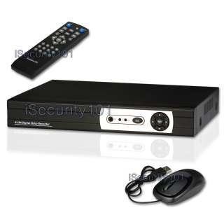 The package DVR7108 S8D includes a 8 channel standalone DVR with