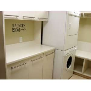 Wall art Laundry room vinyl home decor stickers letters quotes love