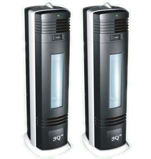 TWO NEW FRESH IONIC AIR PURIFIER UV OZONE CLEANER 04A