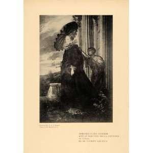 Dyck Marchesa Elena Grimaldi   Original Halftone Print: Home & Kitchen