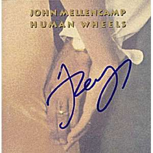 JOHN COUGAR MELLENCAMP Autographed Signed CD Cover