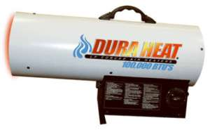 100K BTU PORTABLE PROPANE TORPEDO HEATER GARAGE WORK DS