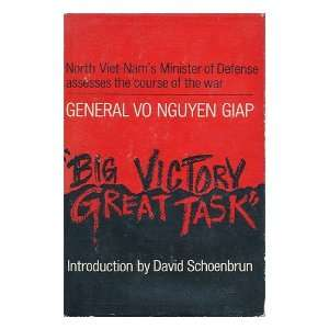 the Course of the War Vo Nguyen and David Schoenbrun Giap Books