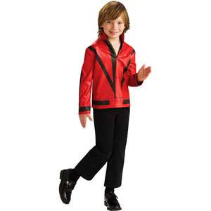 Michael Jackson Red Thriller Jacket Child Halloween Costume Halloween