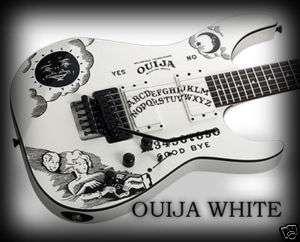 Kirk Hammett Ouija Guitar Body Vinyl Sticker Decals KH2