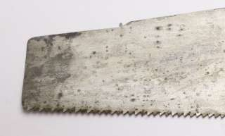 28 inch Hand Saw with Decals. Pin straight, bright, clean and razor