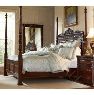 Mahogany Queen Headboard Intricate Carvings Also King