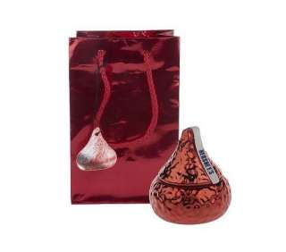 Valerie Parr Hill Hershey Kiss Chocolate Candle Set RED Valentine Day