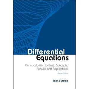 Differential Equations An Introduction to Basic Concepts, Results and