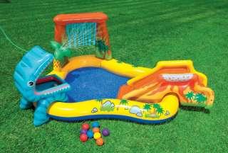 Intex Dinosaur Play Center Inflatable Kids Set & Swimming Pool