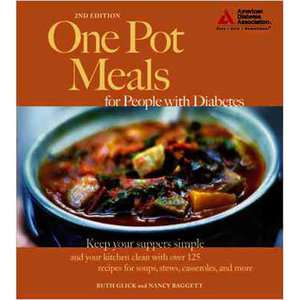 One Pot Meals for People with Diabetes, Glick, Ruth