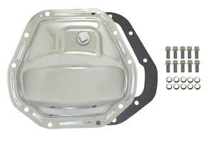 CHROME STEEL DANA 44 DIFFERENTIAL COVER JEEP,CHEVY,FORD