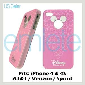 Pink Disney Mickey Mouse Back Cover Case for iPhone 4 4G 4S AT&T
