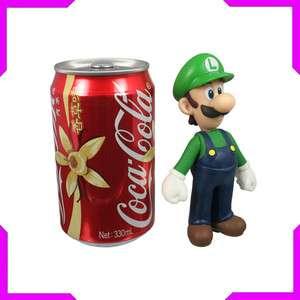 Nintendo Super Mario Bros Luigi Action Figure Toy Green