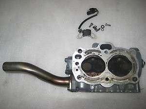 Mystery Honda Outboard Cylinder Head