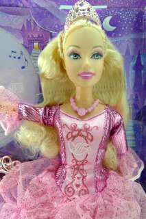 Disney Fairytale Barbie Princess Cinderella Pink Dress