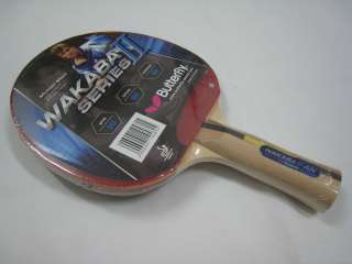 Butterfly Wakaba II Series AN Table Tennis Blade/Paddle