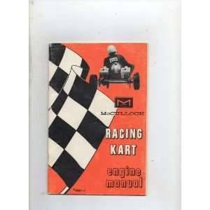 Mcculloch Racing Kart Engine Manual #48661 1: Unstated