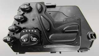 OEM MERCEDES W220 S CLASS POWER HEATED ADJUSTMENT SEATS CONTROL SWITCH