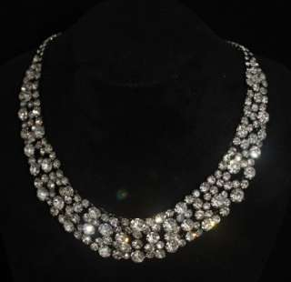 DIAMOND NECKLACE CHOKER PREMIER DESIGNS JEWELRY WHOLESALE WEDDING