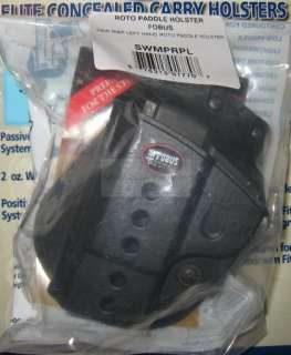NEW Smith Wesson S&W M&P MP9 MP40 MP45 FOBUS ROTO PADDLE HOLSTER LEFT