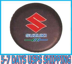 New Stylish SUZUKI Spare Wheel Tyre Tire Cover Leather