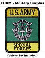 Military Patch   US ARMY   SPECIAL FORCES (Green Beret)