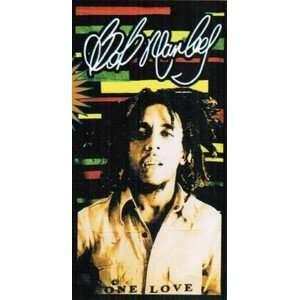 One Love Beach Towel   Bob Marley