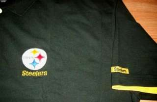 Pittsburgh Steelers Polo Shirt 4XL Tall Specialty NFL