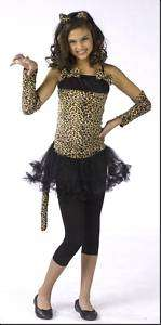 Leopard Cheetah cat teen girls halloween costume 0 9