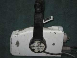EVINRUDE JOHNSON OMC OUTBOARD MOTOR REMOTE CONTROL BOX w/ Key