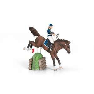 Schleich Eventing Horse Set: Toys & Games