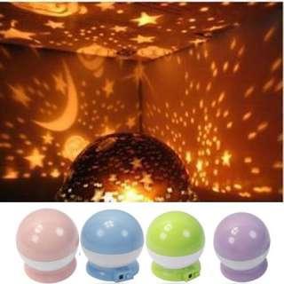 Cosmos Star Night Romantic USB Projector Light Lamp Baby Care