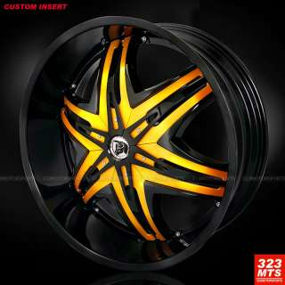 TRUCK WHEELS & RIMS ESCALADE YUKON TAHOE GMC WHEELS DIABLO ELITE