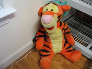 plush talking Tigger doll, from Winnie the Pooh, works great