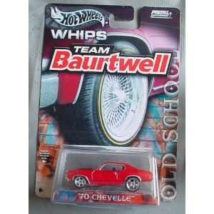 Hot Wheels Team Baurtwell WHIPS Old School 70 Chevelle